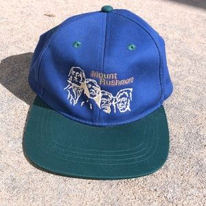 Other - Vintage Mount Rushmore hat